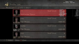 Demon's Souls All Bosses Bow Only in 58:02 RTA (00:53:XX IGT)