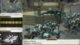 Warhammer Age of Sigmar – Army Showcase: Ben Johnson's Host of the Everchosen and Slaves to Darkness vs Fyreslayers Battle Report