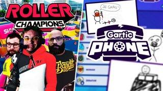 Le retour de Roller Champions avec Gius et un collègue de travail. Top team Montpellier (#NotAd)