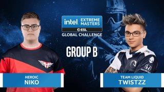 CS:GO - Team Liquid vs. Heroic [Nuke] Map 2 - IEM Global Challenge 2020 - Group B
