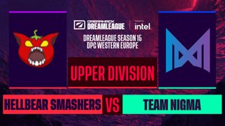 Dota2 - Team Nigma vs. Hellbear Smashers - Game 2 - DreamLeague S15 DPC WEU - Upper Division