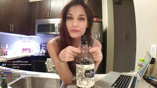 Highlight: Holiday baking and mixed drinks! Kraken is sponsoring us poggers! #sponsored #ad