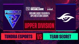 Dota2 - Team Secret vs. Tundra Esports - Game 2 - DreamLeague S15 DPC WEU - Upper Division