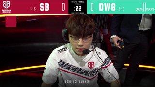 SB vs. DWG - SP vs. AF [2020 LCK Summer Split]