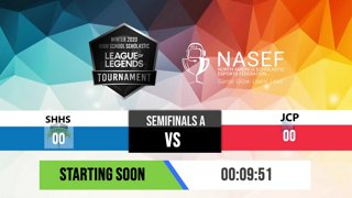 Highlight: Semifinals | High School Scholastic League of Legends Tournament - Powered by NASEF | !