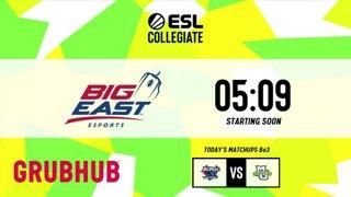LIVE: ESL Collegiate - Big East Preseason Invitational - Day 4
