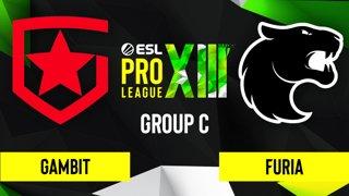 CS:GO - Gambit vs. FURIA [Vertigo] Map 1 - ESL Pro League Season 13 - Group C