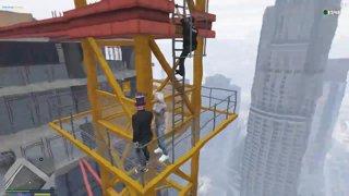 Highlight: Dreah falls off a crane..
