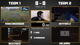 ADL - Round 3 - NiceTwice & MinecrAvenger vs SkyFix & Halikaru