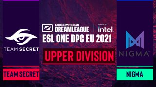 Dota2 - Team Secret vs. Nigma - Game 1 - DreamLeague Season 14 DPC: EU - Upper Division