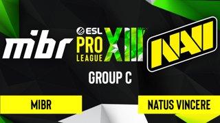 CS:GO - Natus Vincere vs. MIBR [Dust2] Map 2 - ESL Pro League Season 13 - Group C