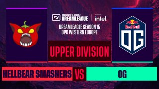 Dota2 - OG vs. Hellbear Smashers - Game 2 - DreamLeague S15 DPC WEU - Upper Division