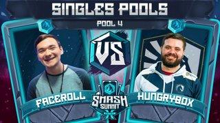 Faceroll vs Hungrybox - Singles Pools: Pool 4 - Smash Summit 10 | Sheik vs Puff