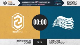 ZEROZONE VS NEXUS2 BEACON GG - MAPA 1  | Orange Unity League CSGO  | ASCENSO/DESCENSO | Temporada 2020