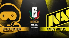 Natus Vincere vs. Spacestation // Six Major Mexico - group stage - day 1