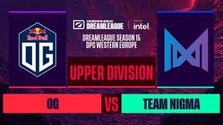 Dota2 - OG vs. Team Nigma - Game 1 - DreamLeague S15 DPC WEU - Upper Division