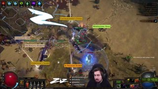 Zizaran - Path of Exile - Ritual - Chaos Spell Slinger RiP