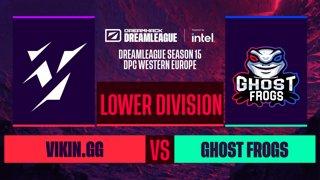 Dota2 - Vikin.gg vs. Ghost frogs - Game 1 - DreamLeague S15 DPC WEU - Lower Division
