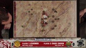Blood Bowl – Lizardmen vs Chaos Chosen Match Report