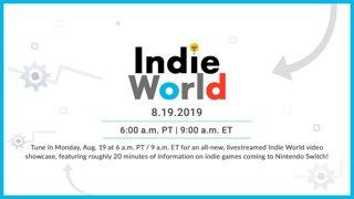 Indie World Showcase 8.19.2019