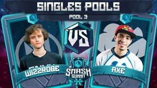 Wizzrobe vs Axe - Singles Pools: Pool 3 - Smash Summit 10 | Captain Falcon vs Pikachu