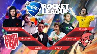 En direct de Paris pour du Rocket league avec DES GENS