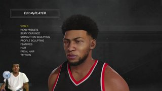 NBA 2K17 FACE SCAN