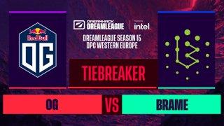 Dota2 - OG vs. Brame  - Game 1 - DreamLeague S15 DPC WEU - Tiebreaker