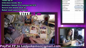 Highlight: BREAKS! SHINY V!!! AND PERSONAL BREAKS! CHILL VIBES!  !giveaway !mixer !break !discord