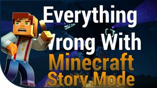 Game Sins | Everything Wrong With Minecraft Story Mode Eps. 1-4