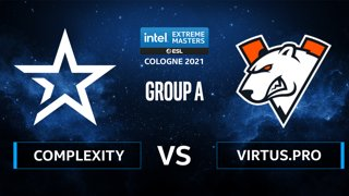 CS:GO - Virtus.pro vs Complexity [Dust2] Map 2 - IEM Cologne 2021 - Group A