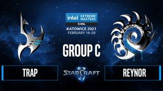 SC2 - Trap vs. Reynor - IEM Katowice 2021 - Group C
