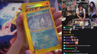 pokimane 25k pokemon card unboxing :D ft my friend mat (covid tested prior to stream)