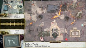 Warhammer Age of Sigmar – Slaves to Darkness (Host of the Everchosen) vs Big Waaagh! Battle Report