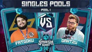 FatGoku vs Gahtzu - Singles Pools: Pool 1 - Smash Summit 10 | Fox vs Captain Falcon