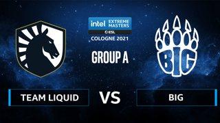 CS:GO - Team Liquid vs BIG [Vertigo] Map 1 - IEM Cologne 2021 - Group A