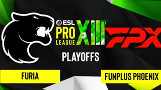 CS:GO - FURIA vs. FunPlus Phoenix [Nuke] Map 1 - ESL Pro League Season 13 - Playoffs