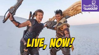 Monster Hunter...Movie Trailer & More Chat...Multiplayer Stuff After! !nzxt !ads (10-14)