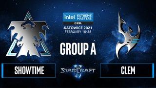 SC2 - ShoWTimE vs. Clem - IEM Katowice 2021 - Group A