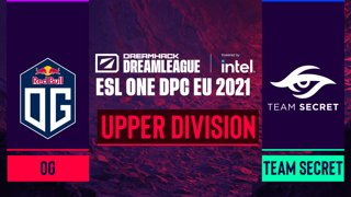 Dota2 - OG vs. Team Secret - Game 1 - DreamLeague Season 14 DPC: EU - Upper Division