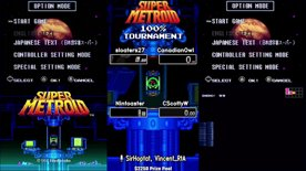 Top 32. sloaters27 vs CanadianOwl, Nintoaster vs CScottyW. Super Metroid 100% Tournament 2020.