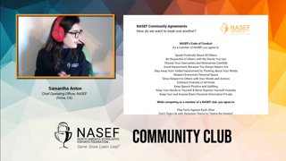 Highlight: NASEF Community Club | Starting at 10:00 AM PT / 1:00 PM ET