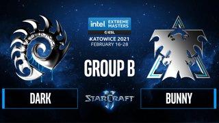SC2 - Dark vs. Bunny - IEM Katowice 2021 - Group B