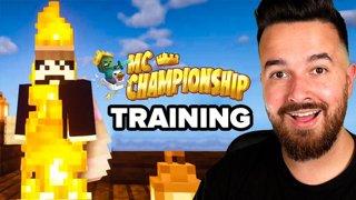 Training for the MC Championship! #NotLast