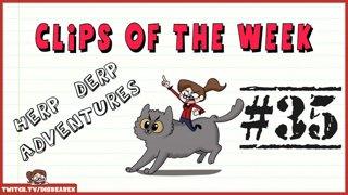 Clips Of The Week #35 - Herp Derp Adventures