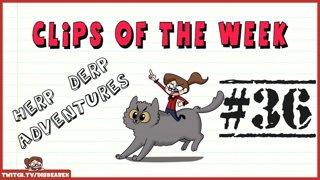 Clips Of The Week #36 - Herp Derp Adventures
