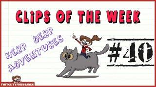 Clips Of The Week #40 - Herp Derp Adventures
