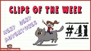Clips Of The Week #41 - Herp Derp Adventures