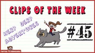 Clips Of The Week #45 - Herp Derp Adventures