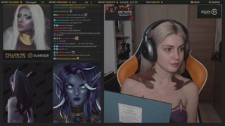 Void Elf Allied Race  - World of Warcraft Inspired Makeup Bodypaint - Djarii MUA